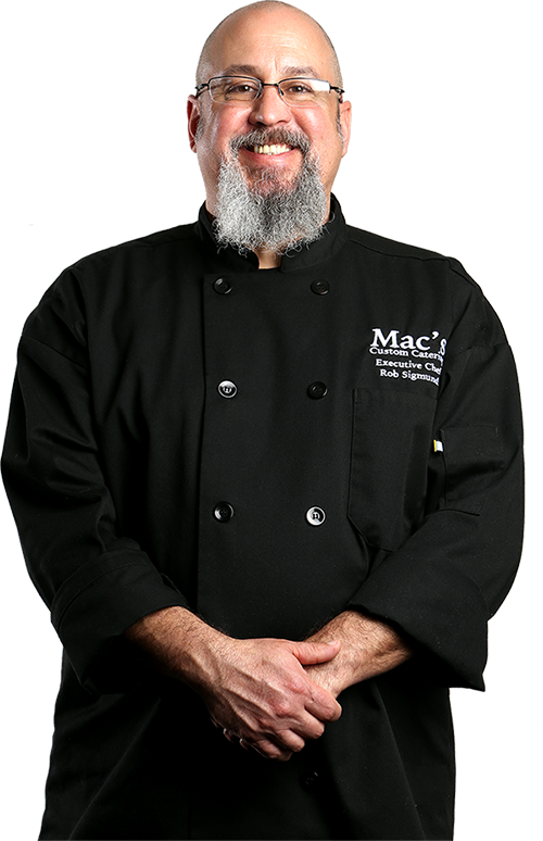 Chef Rob Sigmund | Mac's Custom Catering in Eugene Oregon